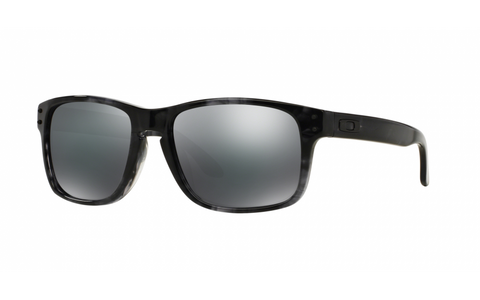 OAKLEY HOLBROOK LX DARK GREY TORTOISE w/BLACK IRIDIUM