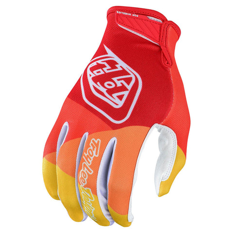 NEW 2020 TROY LEE DESIGNS AIR GLOVE - YELLOW  RED