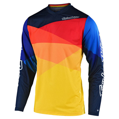 NEW 2020 TROY LEE DESIGNS® GP AIR JET JERSEY - YELLOW ORANGE
