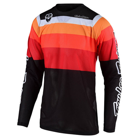 NEW 2020 TROY LEE DESIGNS® SE AIR SPECTRUM JERSEY - BLK ORG