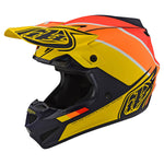 NEW 2020 TROY LEE DESIGNS SE4 POLYACRYLITE BETA HELMET - NAVY YELLOW