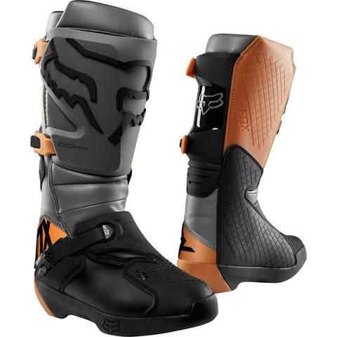 FOX RACING MENS COMP BOOTS - STONE