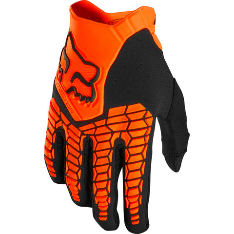 FOX RACING PAWTECTOR GLOVE - FLO ORANGE