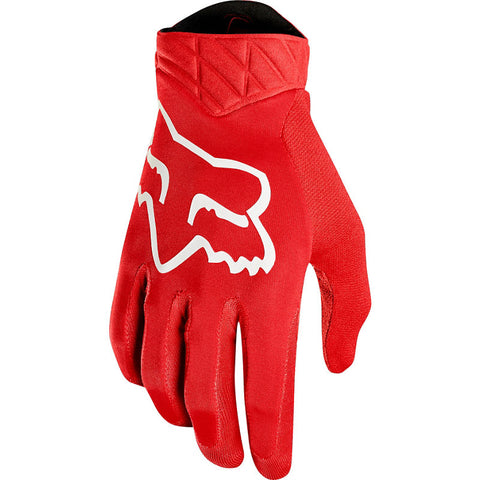 NEW 2020 FOX RACING AIRLINE GLOVE - RED