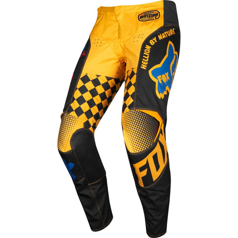 FOX RACING KIDS PEEWEE 180 CZAR PANT - BLACK YELLOW
