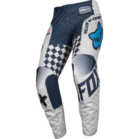 FOX RACING YOUTH 180 CZAR PANT - LIGHT GRAY