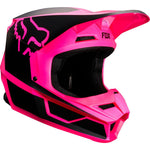 FOX RACING V1 PRZM HELMET- BLACK PINK