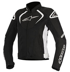 ALPINESTARS STELLA T JAWS WATERPROOF JACKET - BLACK WHITE