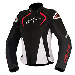 ALPINESTARS STELLA T JAWS WATERPROOF JACKET - BLACK WHITE RED