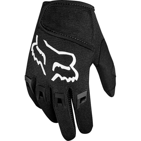 FOX RACING KIDS DIRTPAW GLOVES - BLACK