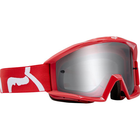FOX RACING YOUTH MAIN RACE GOGGLE - RED
