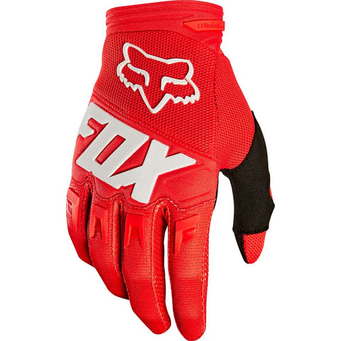 FOX RACING YOUTH DIRTPAW RACE GLOVE - RED