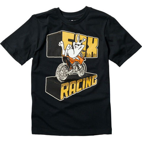 FOX RACING YOUTH SLEEPER BASIC TEE - BLACK