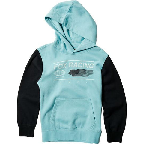 FOX RACING YOUTH GLOBAL PULLOVER HOODIE - CITADEL