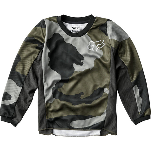 NEW 2020 FOX RACING KIDS 180 PRZM SPECIAL EDITION JERSEY - CAMO
