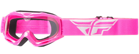 FLY RACING YOUTH FOCUS GOGGLE - PINK