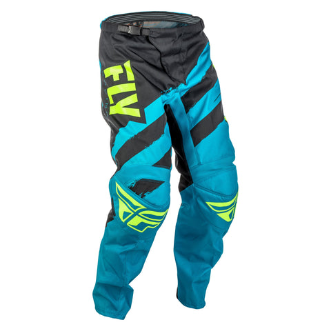 FLY RACING YOUTH F-16 PANT - BLUE BLACK