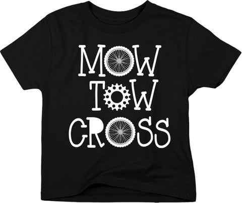 YOUTH SMOOTH MOW TOW CROSS TEE