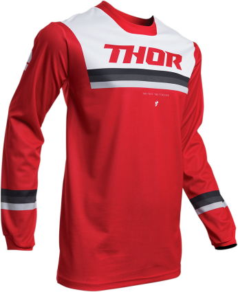NEW 2020 THOR PULSE PINNER JERSEY - RED
