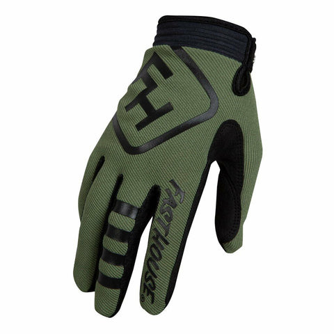 FASTHOUSE SPEED STYLE PATRIOT GLOVES - OLIVE