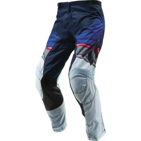 THOR WOMENS PULSE DEPTHS PANTS - BLUE GREY PINK