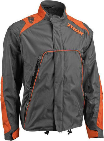 THOR RANGE JACKET S6 EXTRA LARGE - BK/OR
