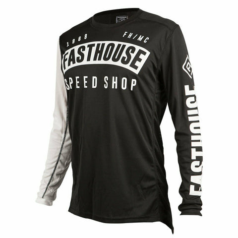 FASTHOUSE BLOCK L1 JERSEY - BLACK
