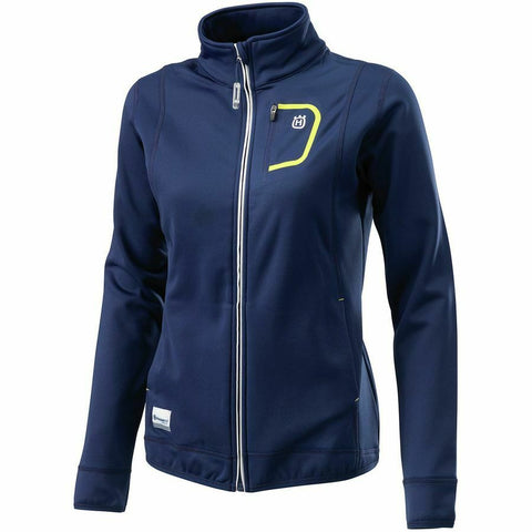 HUSQVARNA WOMENS POWERWEAR BASIC LOGO ZIP UP JACKET