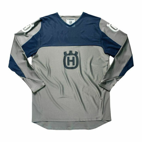 HUSQVARNA RAILED JERSEY - GREY