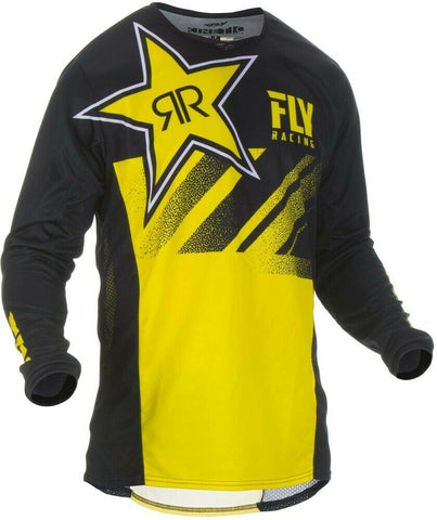FLY RACING KINETIC ROCKSTAR JERSEY - YELLOW/BLACK