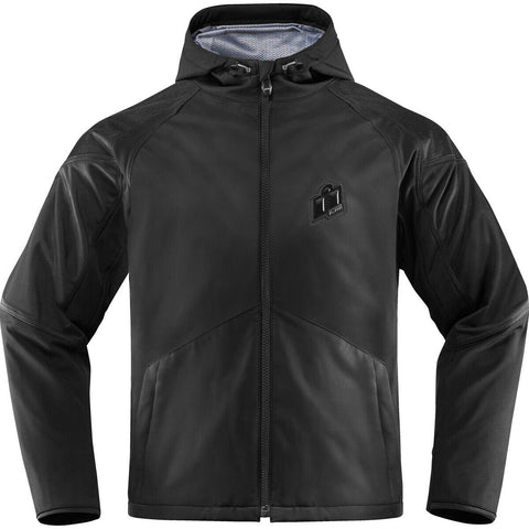 ICON MERC STEALTH D30 ARMORED JACKET - BLACK