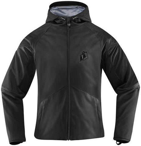ICON WOMEN'S MERC STEALTH JACKET - BLACK