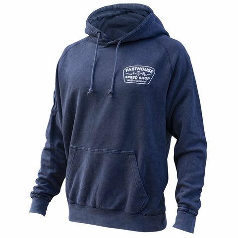FASTHOUSE WEDGED HOODIE - NAVY WASH
