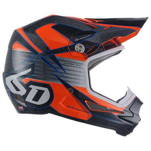6D YOUTH ATR-1Y AVENGER HELMET - ORANGE