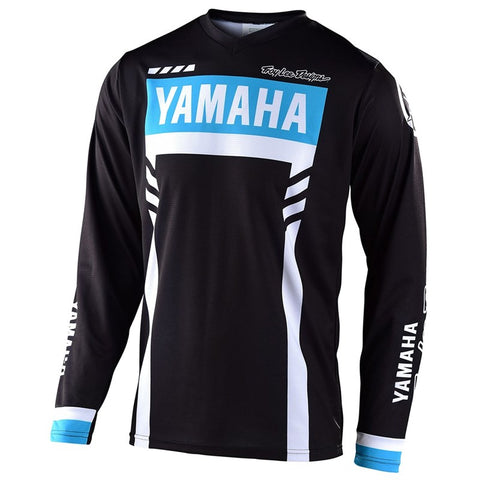 NEW 2020 YAMAHA RS1 GP MX JERSEY BY TROY LEE DESIGNS® - BLACK
