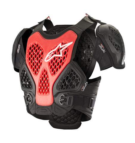 ALPINESTARS ADULT BIONIC CHEST PROTECTOR - BLACK RED