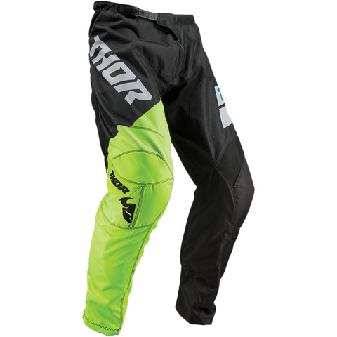 THOR YOUTH S9Y SECTOR SHEAR PANT - BLACK GREEN