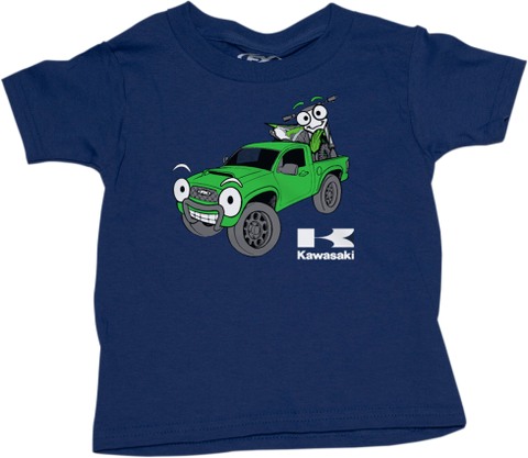 TODDLER KAWASAKI TRUCK NAVY