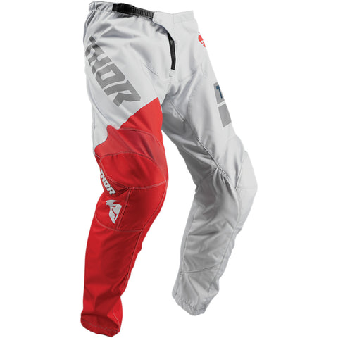 THOR YOUTH S9Y SECTOR SHEAR PANT - GRAY RED