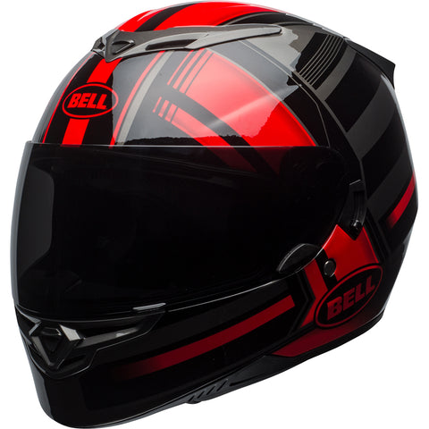 BELL RS-2 TACTICAL HELMET - BLACK RED