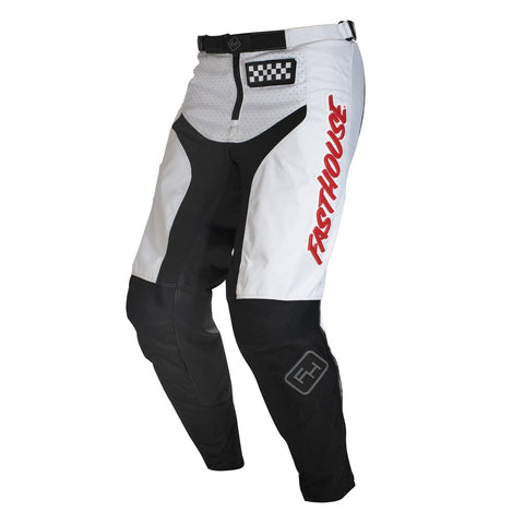 2020 FASTHOUSE YOUTH GRINDHOUSE PANT - WHITE/RED