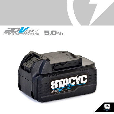 STACYC 20VMAX 5AH BATTERY