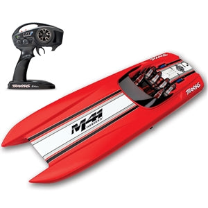 TRAXXAS DCB M41 40-INCH BRUSHLESS CATAMARAN READY-TO-RACE BOAT W/TSM
