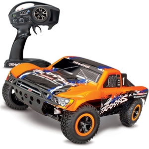 TRAXXAS SLASH 4X4: 1/10 SCALE 4WD SHORTCOURSE