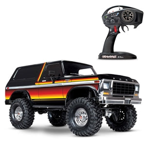 TRAXXAS TRX-4 FORD BRONCO 4WD ROCK CRAWLER TRAIL TRUCK