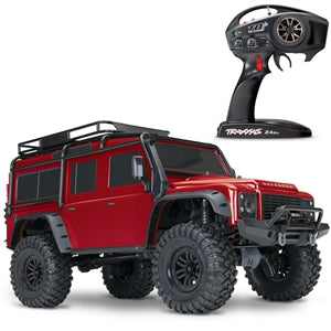 TRAXXAS TRX-4 LAND ROVER SCALE & TRAIL CRAWLER