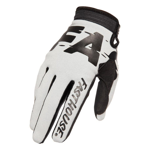 2020 FASTHOUSE SPEED STYLE TURBO GLOVE - SILVER