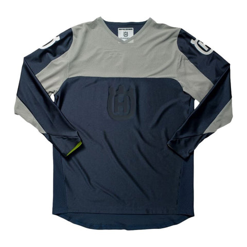 HUSQVARNA RAILED JERSEY - BLUE