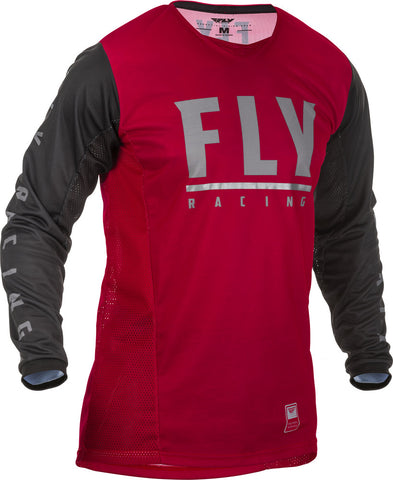 NEW 2020 FLY RACING FLY PATROL JERSEY - MAROON BLACK