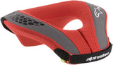ALPINESTARS YOUTH NECK ROLL - BLACK RED